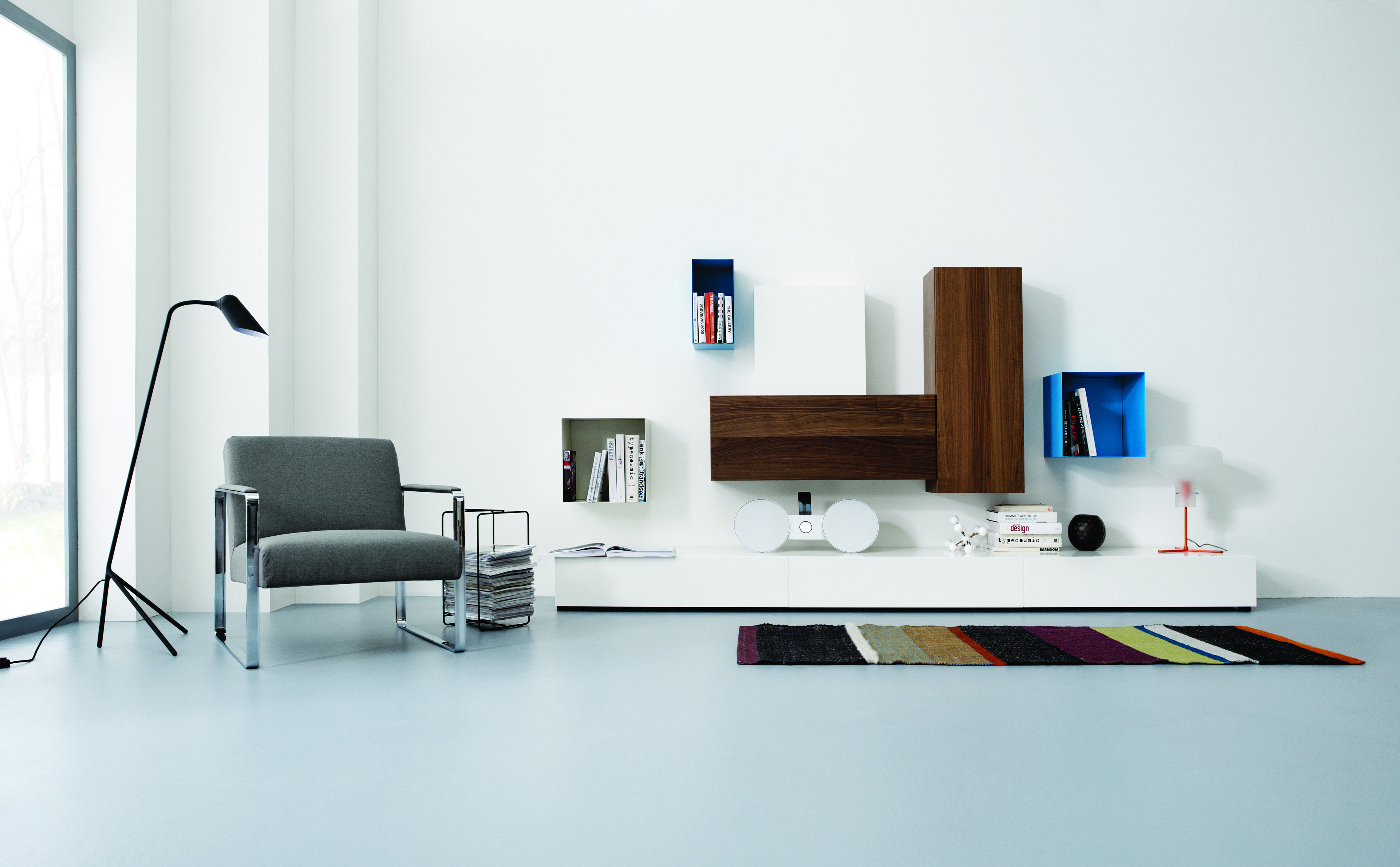 Wall system boconcept cambridge for Buro concept